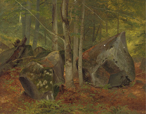 Art Prints of In the Woods by William Holbrook Beard