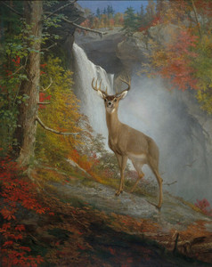 Art Prints of Majestic Stag by William Holbrook Beard