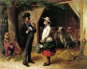 Art Prints of Who's Afraid by William Holbrook Beard