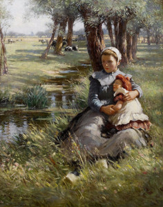 Art Prints of An Afternoon Nap by William Kay Blacklock
