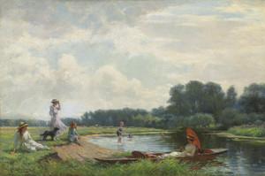 Art Prints of Summer by William Kay Blacklock