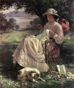 Art Prints of Sunlight and Shadow by William Kay Blacklock