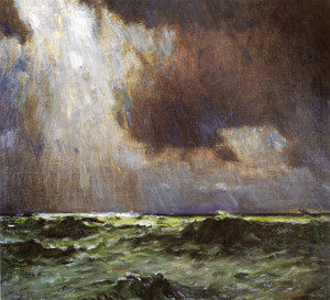 Art Prints of The Black Squall by William Lathrop