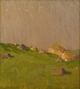 Art Prints of Pasture Boulders by William Lathrop