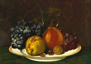 Art Prints of Still Life with Fruit II by William Mason Brown