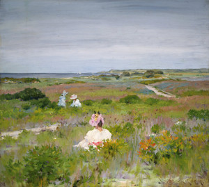 Art Prints of Landscape, Shinnecock Long Island by William Merritt Chase