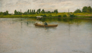 Art Prints of Pulling for Shore by William Merritt Chase