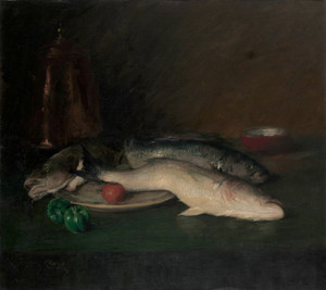 Art Prints of Still Life Fish by William Merritt Chase