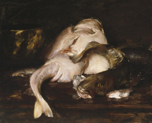 Art Prints of Still Life Fish II by William Merritt Chase