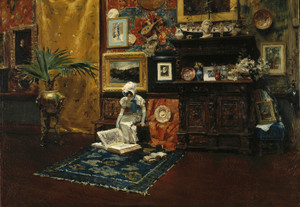 Art Prints of Studio Interior by William Merritt Chase