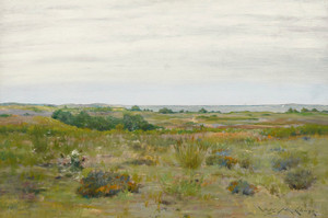 Art Prints of The Blown Thistle, Long Island by William Merritt Chase