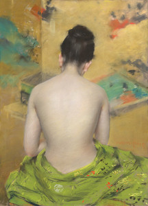 Art Prints of Study of Flesh Color and Gold by William Merritt Chase
