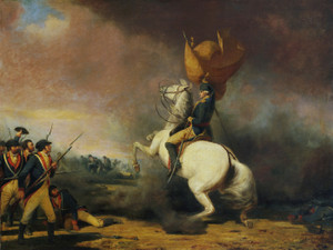 Art Prints of George Washington Rallying the Americans by William Tylee Ranney