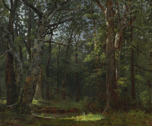 Art Prints of The Buttonwood Grove by William Tylee Ranney
