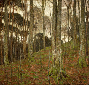 Art Prints of Forest Interior by William Wendt