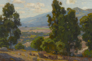 Art Prints of A Vista of California by William Wendt