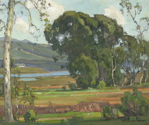 Art Prints of A California Inlet by William Wendt