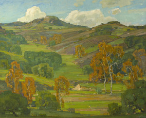Art Prints of Autumn Sycamores by William Wendt