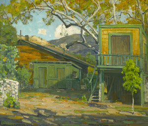 Art Prints of Canyon Cottage by William Wendt