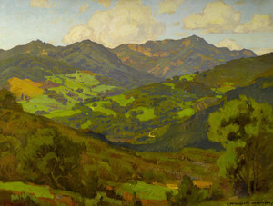 Art Prints of Converging Fields of Malibu by William Wendt