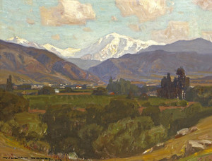 Art Prints of Mount San Antonio II by William Wendt