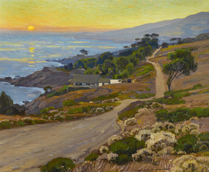 Art Prints of Old Coast Road by William Wendt