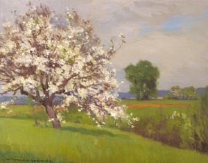 Art Prints of Spring II by William Wendt