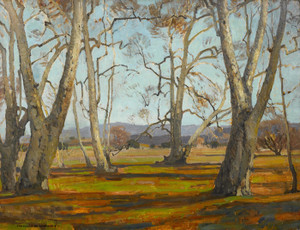 Art Prints of Sycamores by William Wendt