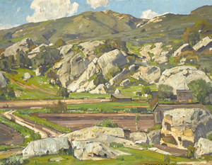 Art Prints of Sermons in Stone by William Wendt