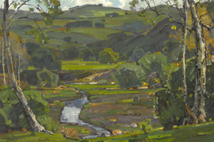 Art Prints of The Brook by William Wendt