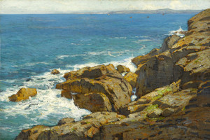 Art Prints of Vibrant Coast by William Wendt