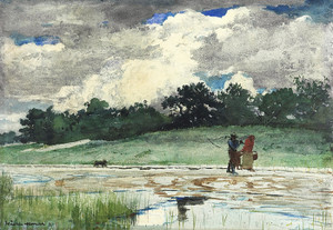Art Prints of After the Rain Prout's Neck by Winslow Homer