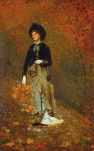 Art Prints of Autumn by Winslow Homer