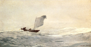 Art Prints of Blown Away by Winslow Homer
