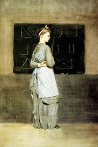 Art Prints of Blackboard by Winslow Homer