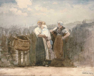 Art Prints of Bridlington Quay by Winslow Homer