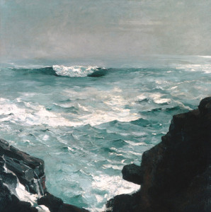 Art Prints of Cannon Rock at Prout's Neck by Winslow Homer