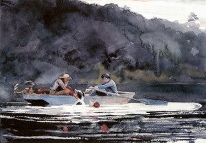 Art Prints of End of the Hunt by Winslow Homer