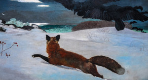 Art Prints of Fox Hunt by Winslow Homer