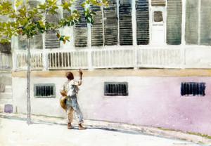 Art Prints of Fresh Flowers by Winslow Homer