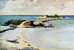 Art Prints of Gallows Island, Bermuda by Winslow Homer