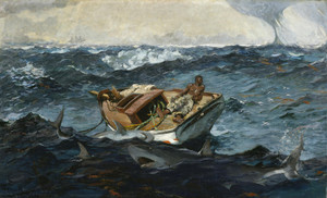 Art Prints of Gulf Stream by Winslow Homer