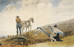 Art Prints of Harrowing by Winslow Homer