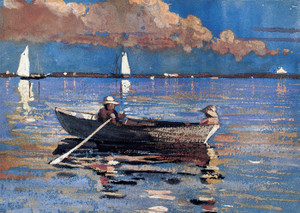 Art Prints of Gloucester Harbor by Winslow Homer