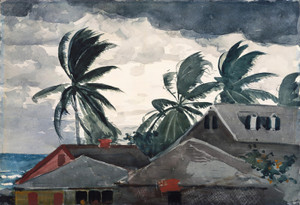 Art Prints of Hurricane Bahamas by Winslow Homer