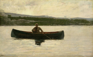 Art Prints of Playing a Fish by Winslow Homer
