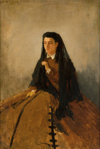 Art Prints of Portrait of Pauline by Winslow Homer