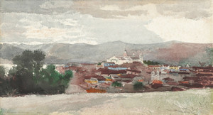 Art Prints of Santiago de Cuba by Winslow Homer