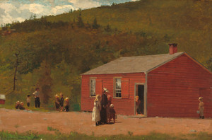 Art Prints of School Time by Winslow Homer