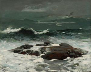 Art Prints of Summer Squall by Winslow Homer